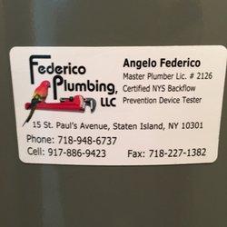 Federico Plumbing Phone Number