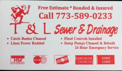T & L Sewer & Drainage Phone Number