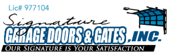 Signature Garage Doors & Gate Repair Phone Number